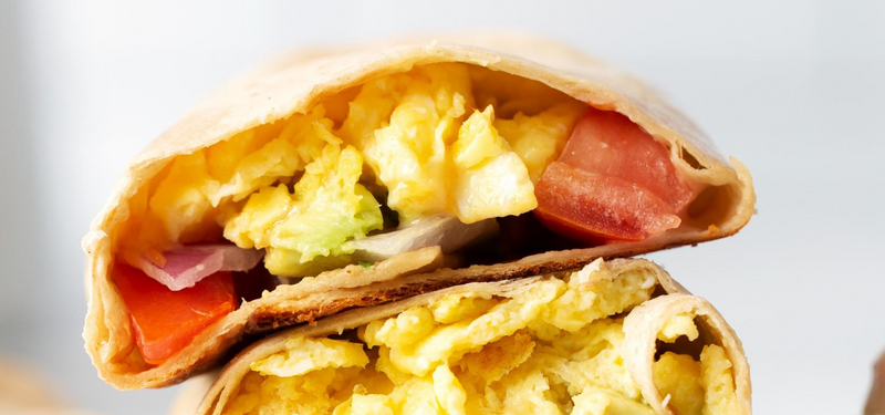 Protein Packed Breakfast Wrap