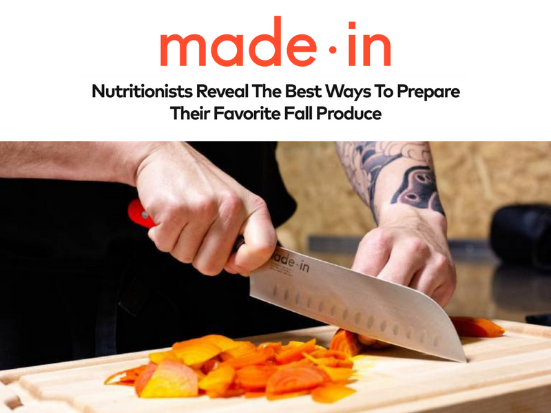 Made In: Nutritionists Reveal The Best Ways To Prepare Their Favorite Fall Produce