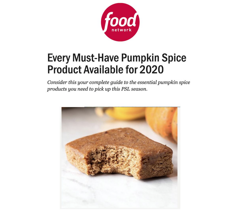 Food Network: Every Must-Have Pumpkin Spice Product Available for 2020