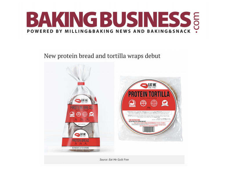 Baking Business: New protein bread and tortilla wraps debut