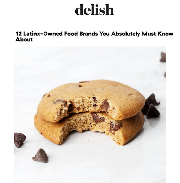 Delish: 12 Latinx-Owned Food Brands
