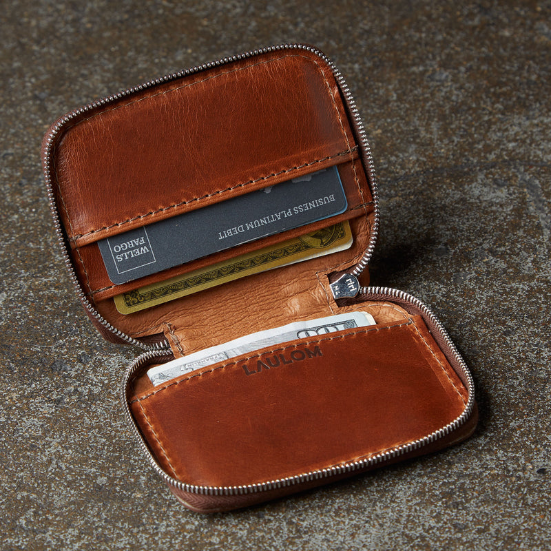 CVL ZIPPER WALLET No. 60 | 70% Off