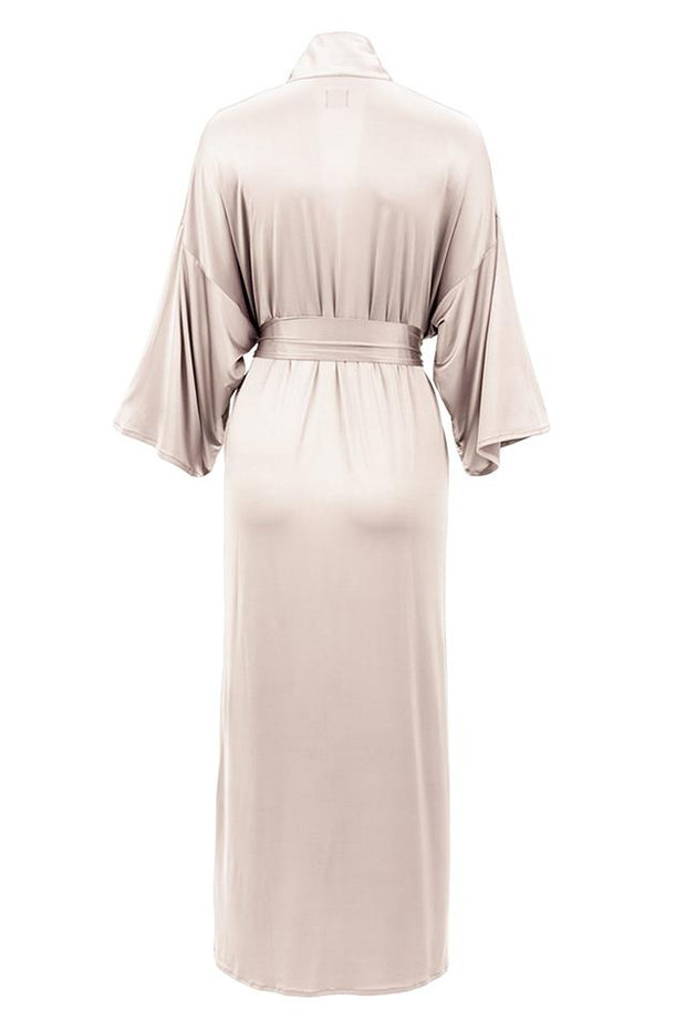 Kelly Maxi morning robe color champagne by Chambres Sweden