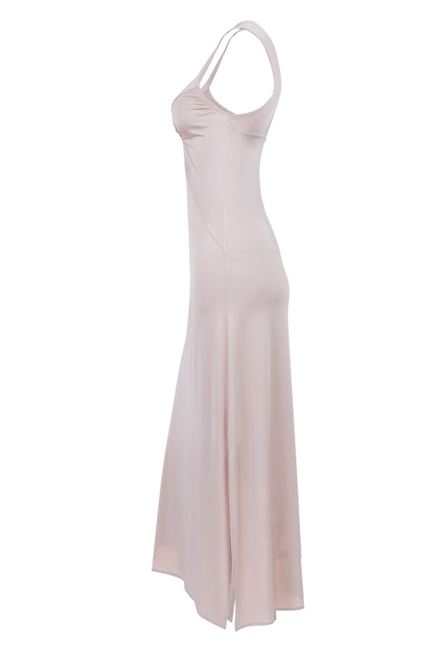 Marlene Dress Maxi - Champagne