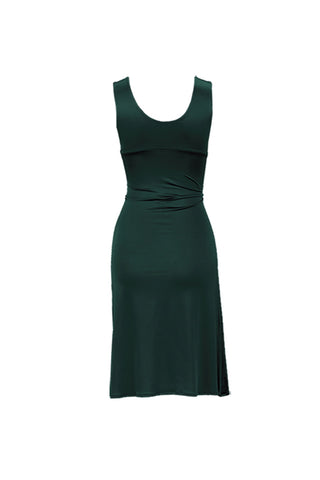 Marlene dress short color green by Chambres Sweden