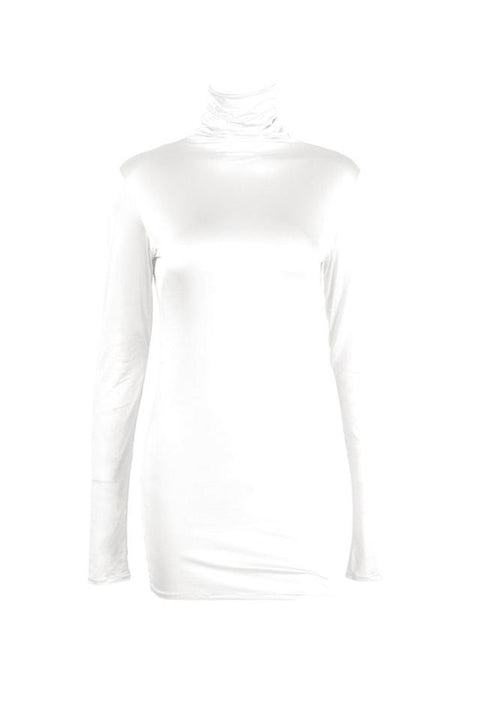 Second skin polo white by Chambres Sweden