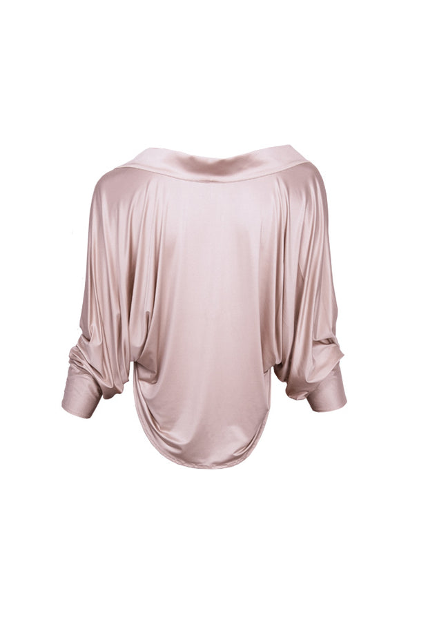 Joe Bolero Jacket - Dusty pink
