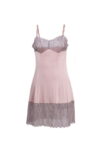 Karin Dress Short - Dusty Pink