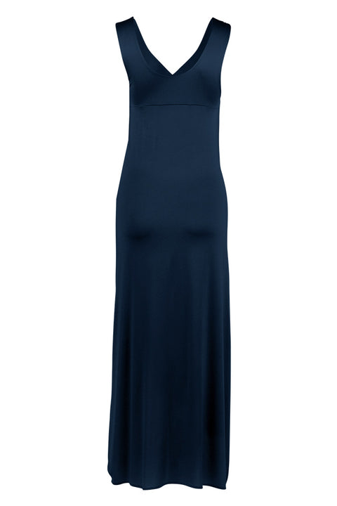 Marlene Dress Maxi - Blue