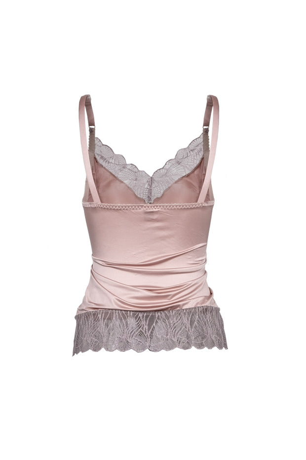 Eva top - dusty pink