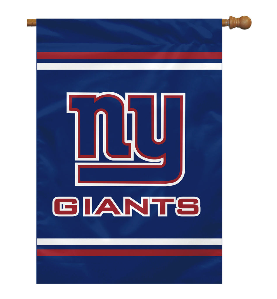 NFL NEW YORK GIANTS 2-SIDED HOUSE FLAG