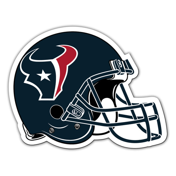 "NFL HOUSTON TEXANS 12"" HELMET MAGNET"