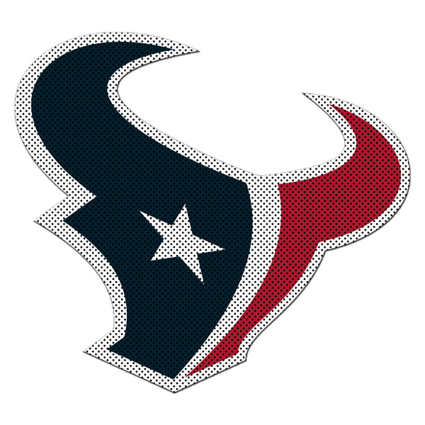 NFL HOUSTON TEXANS LARGE WINDOW FILM