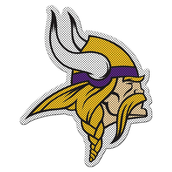NFL MINNESOTA VIKINGS LARGE WINDOW FILM