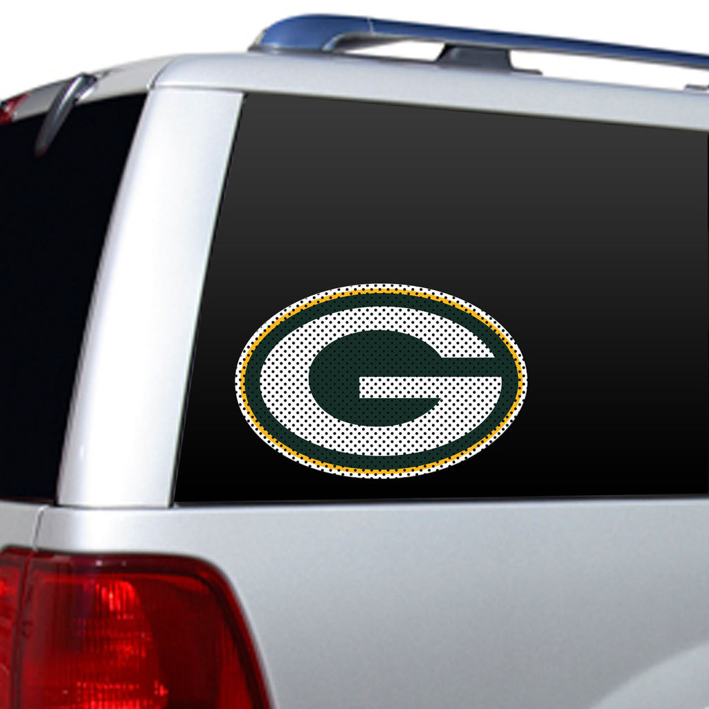 NFL GREEN BAY PACKERS LARGE WINDOW FILM