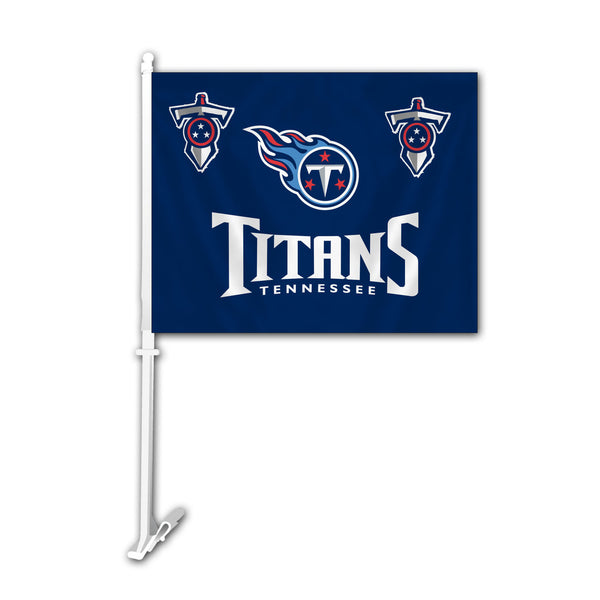 NFL TENNESSEE TITANS CAR FLAG (BLUE)