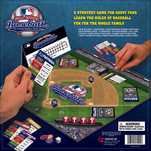 MLB FULL COUNT BASEBALL GAME - Fremont Die