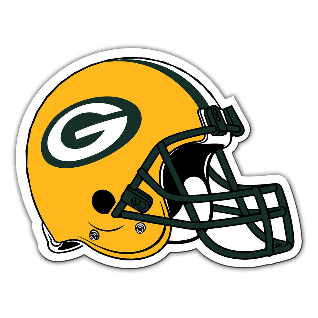 "NFL GREEN BAY PACKERS 12"" HELMET MAGNET"