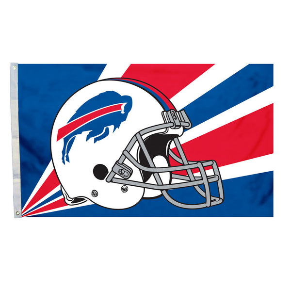 NFL BUFFALO BILLS HELMET 3' X 5' FLAG