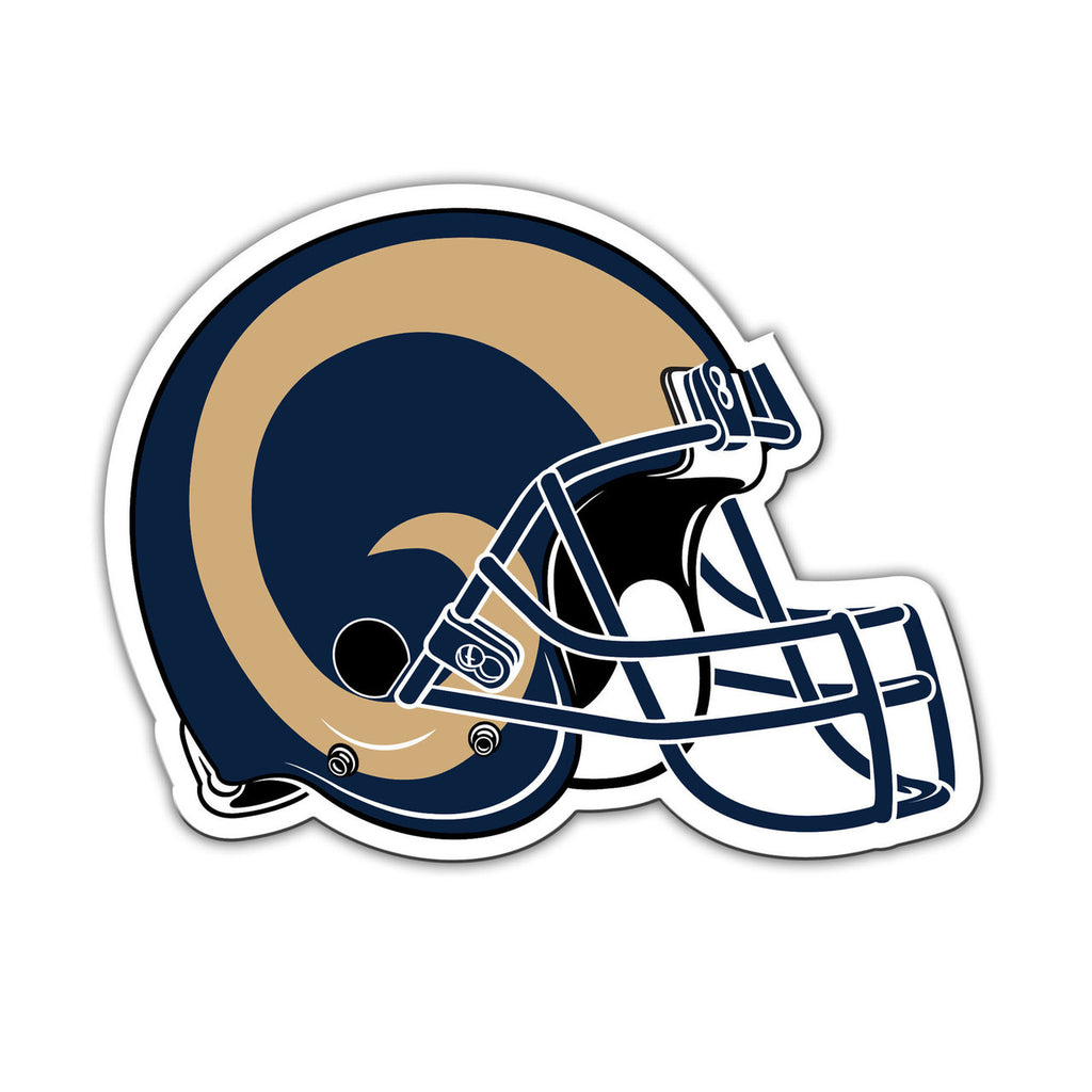 Discount Los Angeles Rams Official 8 Helmet Magnet  for cheap