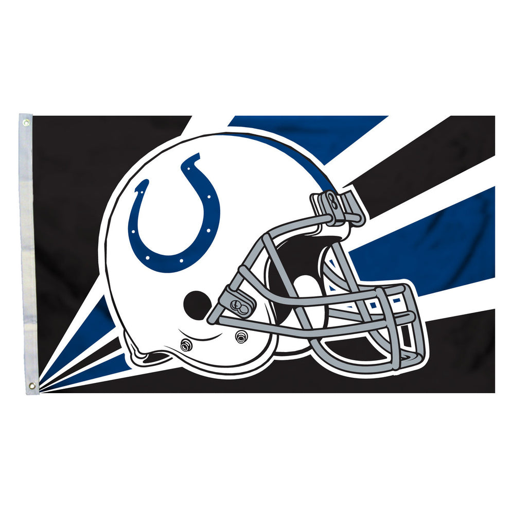NFL INDIANAPOLIS COLTS HELMET 3' X 5' FLAG