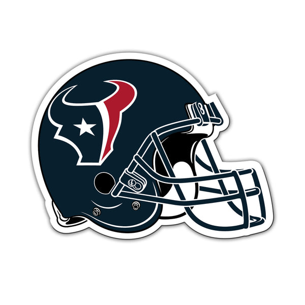 "NFL HOUSTON TEXANS 8"" HELMET MAGNET"