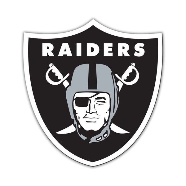 "NFL OAKLAND RAIDERS 12"" MAGNET"