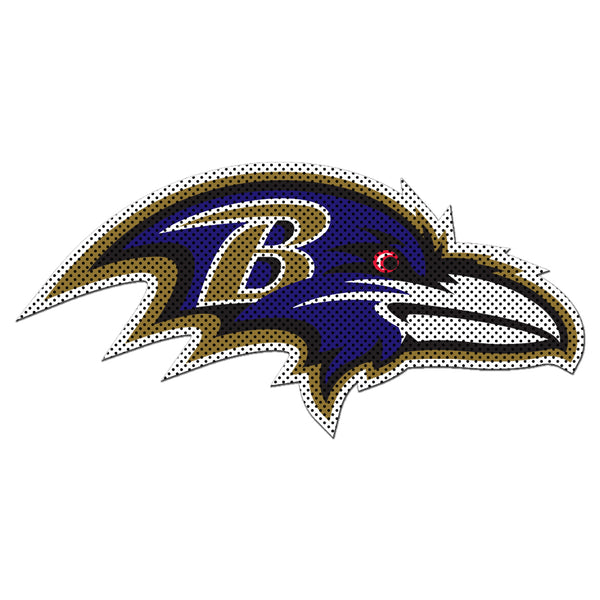NFL BALTIMORE RAVENS LARGE WINDOW FILM