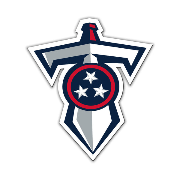 "NFL TENNESSEE TITANS 12"" MAGNET (DAGGER)"