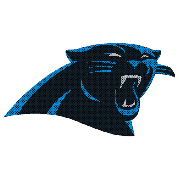 NFL CAROLINA PANTHERS LARGE WINDOW FILM