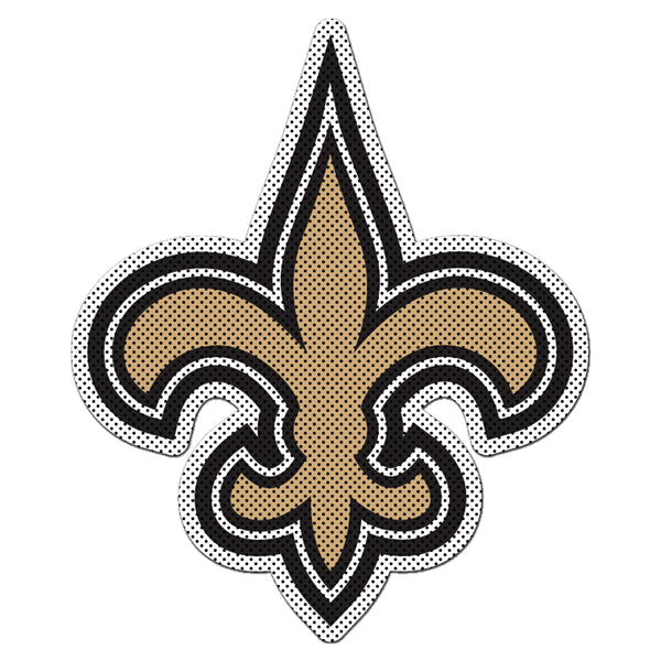 NFL NEW ORLEANS SAINTS LARGE WINDOW FILM