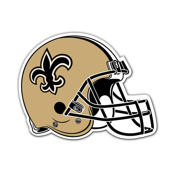"NFL NEW ORLEANS SAINTS 8"" HELMET MAGNET"