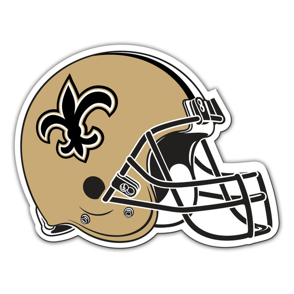 "NFL NEW ORLEANS SAINTS 12"" HELMET MAGNET"