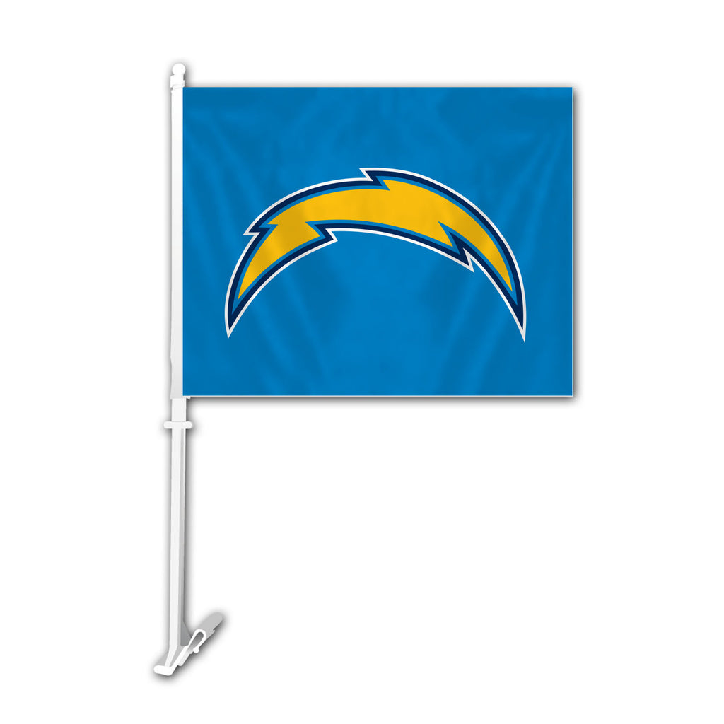 NFL LOS ANGELES CHARGERS BOLT CAR FLAG