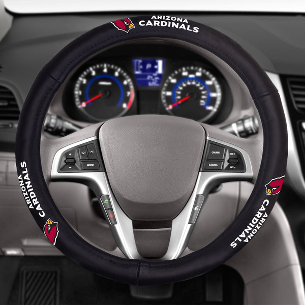 Arizona Cardinals Leather Steering Wheel Cover