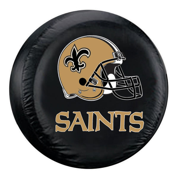 NFL New Orleans Saints Helmet Tire Covers