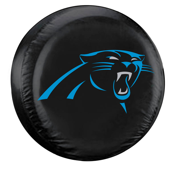 Fremont Die Carolina Panthers Tire Cover