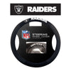 Las Vegas Raiders Poly-Suede Steering Wheel Cover