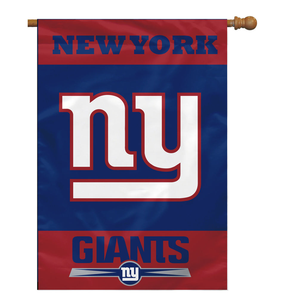 NFL NEW YORK GIANTS 2-SIDED HOUSE FLAG (Imported)