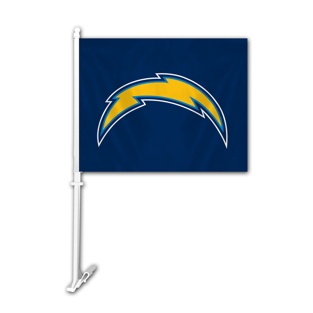 NFL LOS ANGELES CHARGERS BOLT CAR FLAG (Navy)