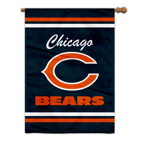 Chicago Bears Premium 2-Sided House Flag (Made in the USA)