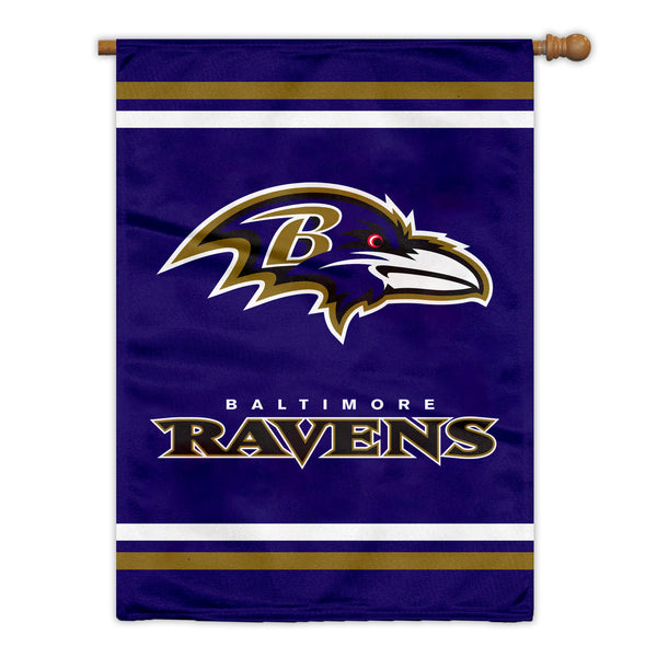 Baltimore Ravens Premium 2-Sided House Flag (Made in the USA)