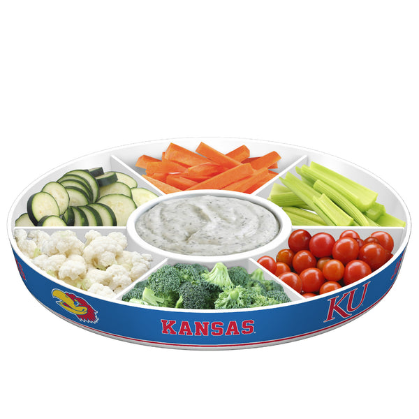 Kansas Jayhawks Party Platter - Fremont Die