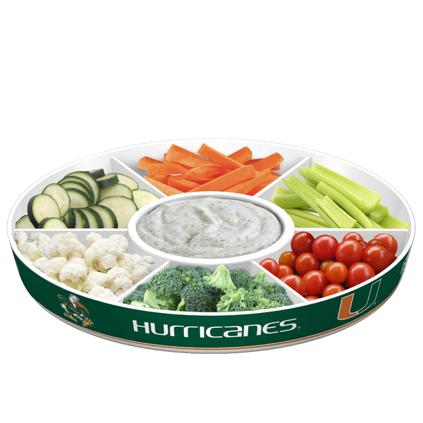 Miami Hurricanes Party Platter - Fremont Die