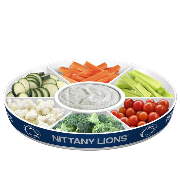 Penn State Nittany Lions Party Platter With Veggies