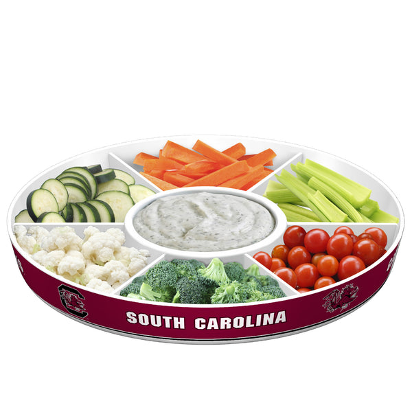 South Carolina Gamecocks Party Platter With Veggies