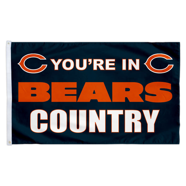 Chicago Bears 3X5 Country Flag