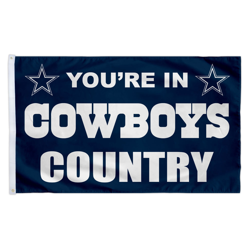 Dallas Cowboys 3X5 Country Flag