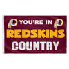 Washington Redskins 3X5 Country Flag