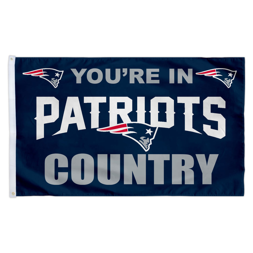New England Patriots 3X5 Country Flag